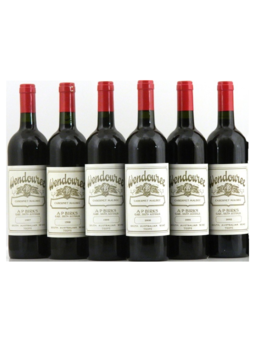 Wendouree Horizontal 6pk Red Blend 2015 750ml